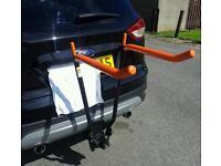 Towbar mounted bike carrier