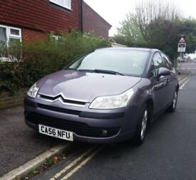 Fantastic Citroen C4 2007 Automatic Metallic Purple Car