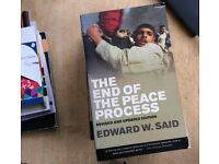 The End of the Peace Process by Edward Said