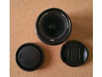Sony DT 18-70mm (Alpha mount), f3.5 to 5.6 Lens + Lens Caps