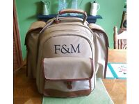 4 person Fortnum and Mason picnic backpack- grab a real bargain!