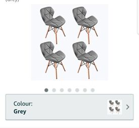 4x chairs