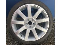 "Genuine Audi TT 18"" Alloy Wheel & Tyre TT MK1 18 Inch Alloy"