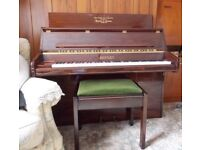 Bentley cottage style piano and stool for sale