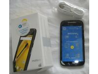 Moto e new in box