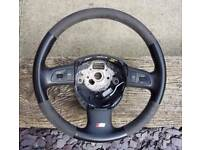 Audi a4 b7 s line special edition steering wheel.