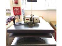 "Epson Sure Colour F6000 44"" Dye Sub Printer and Adkins Heat-Press (63cmx45cm) Manual SWING PRESS"