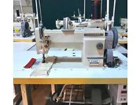 Highlead compound feed walking foot industrial sewing machine