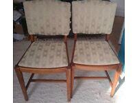 Shabby chic - 3 chairs