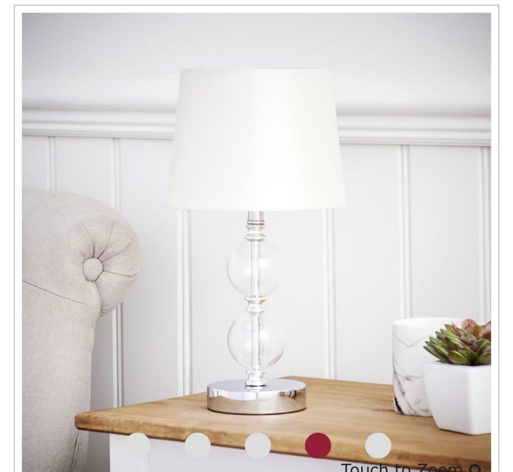 Bedside table lamp | in London | Gumtree