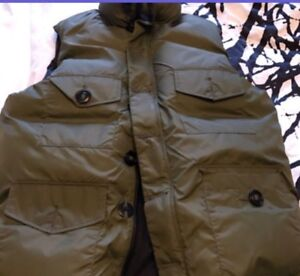 Jacket Real Canada Goose xl fit large to