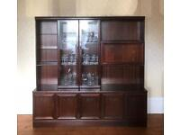 Mahogany solid antique drinks cabinet