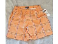 Tommy Hilfiger boy shorts size 14 brand new