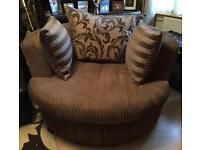 Snuggle / love chair