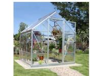 Polycarbonate greenhouse 6 x 6 foot - brand new in box