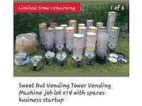 Vending towers for sale job lot