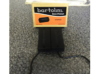 BARTOLINI BASS SOAPBAR PICKUPS - NECK & BRIDGE PAIR - M34CBC
