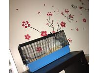 FREE HAMSTER & CAGE !!