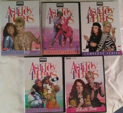 Absolutely Fabulous DVD Lot 5 Titles 10 Discs