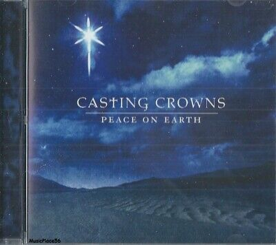 CASTING CROWNS - Peace On Earth - Christmas Holiday Pop CCM Music CD ()