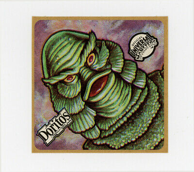 STICKER  CREATURE FROM THE BLACK LAGOON CLASSIC HORROR B-MOVIE GREEN A6