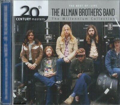 THE ALLMAN BROTHERS BAND - The Millennium Collection Best Of -  Hard Rock Pop