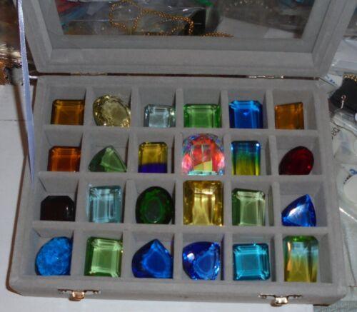 ROYAL CRYSTAL DIAMOND JEWELRY GEM GEMSTONE JEWEL CARAT SET LOT CT COLLECTION GIA