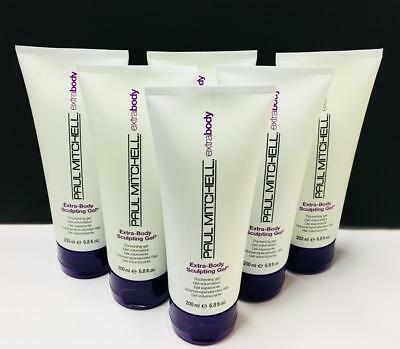(Extra-Body Sculpting Gel by Paul Mitchell - 6 Pack (6.8 fl oz each))