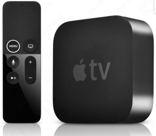 Apple TV 4K - 32GB - Negro (MP7P2HY/A)