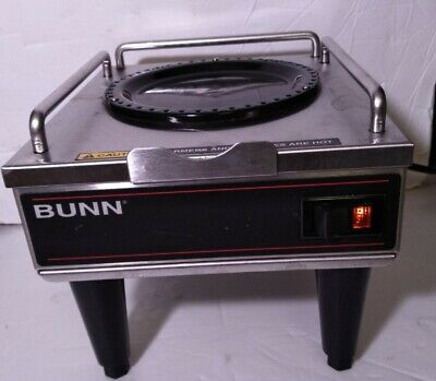 Bunn Rws1 Satelite Coffee Pot Warmer With Auxiliary Port