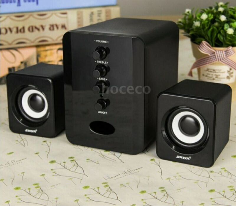 USB+Wired+Speakers+Computer+Speakers+Bass+Stereo+Music+Player+subwoofer+laptop