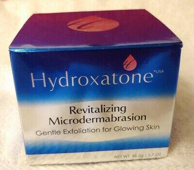 Hydroxatone Revitalizing Microdermabrasion Exfoliation Large 1.7 Hard To Find