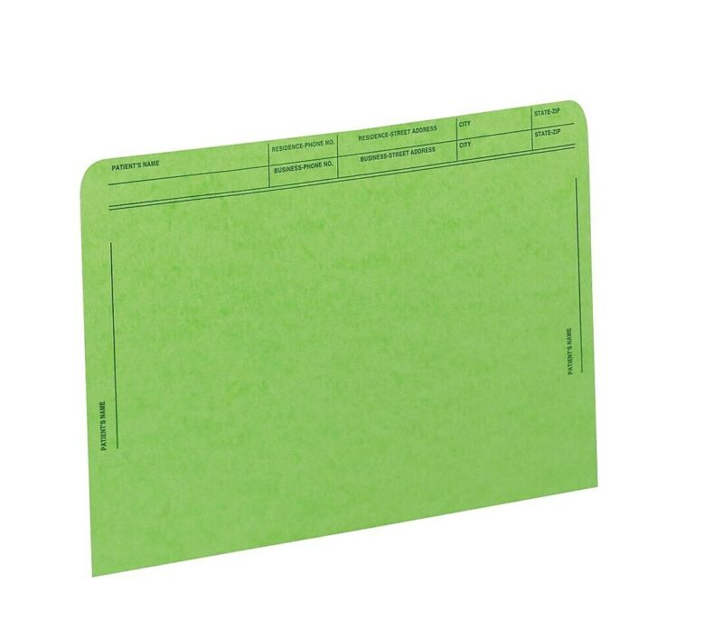 Medical Arts Press File Pockets with Printed 59547GN