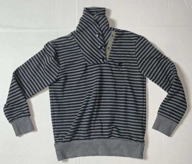 Preowned- DKNY Cowlneck Buttoned Pullover Sweater Boys (Size 6)