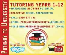 Tutoring Years 1-12 (Tutor) - Pathway to University Ingleburn Campbelltown Area Preview