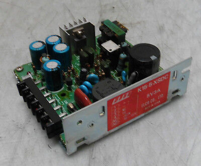 Elco Power Supply, # K15-5-XSDC, Output: 5V @ 3A, Used, WARRANTY