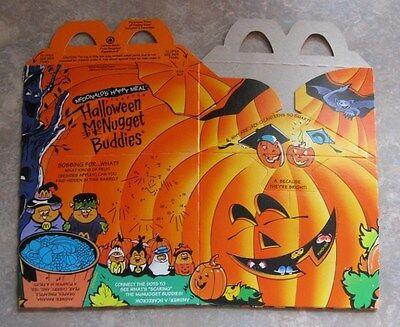 1992 McDonalds Happy Meal McNugget Halloween Box - Pumpkin](Mcdonalds Happy Meal Halloween Toys)