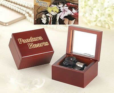 ♫ PANDORA HEARTS ♫  Engrave Handmade Wooden Music Box  : PANDORA HEART LACIES ()