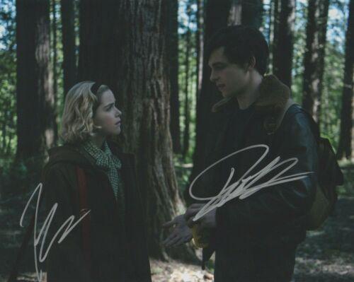 Kiernan Shipka Ross Lynch Chilling Sabrina Autographed Signed 8x10 Photo COA AB0