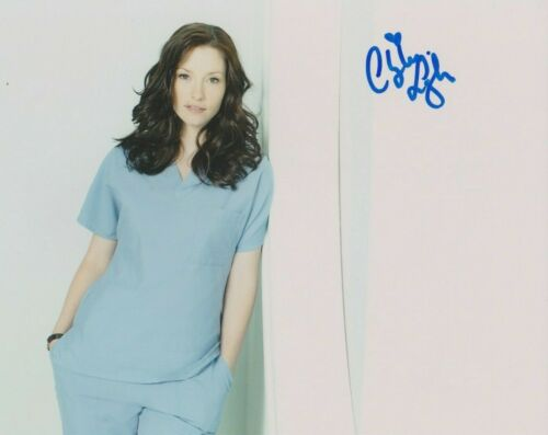 Chyler Leigh Grey's Anatomy Autographed Signed 8x10 Photo COA