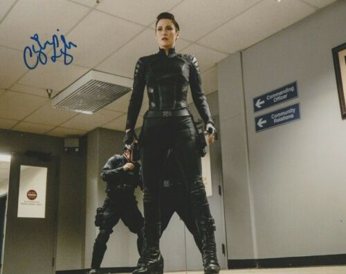 Chyler Leigh Supergirl Autographed Signed 8x10 Photo COA