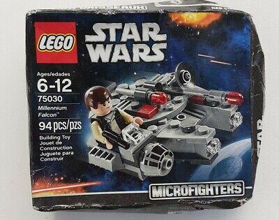 Lego Star Wars Microfighters 75030 Millennium Falcon In Rough Box