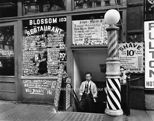 ... -Antique-Barber-Shop-Photo-Hair-Cut-Hot-Razor-Shave-Restaurant-Menu