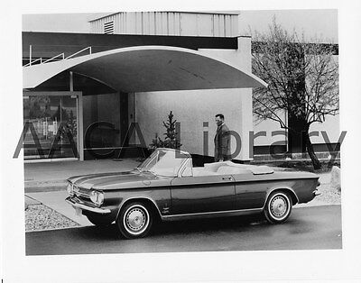 1964 Chevrolet Corvair Monza Spyder Convertible, Factory Photo (Ref. # -