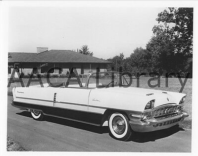 Factory Photo 1954 Packard Panther Daytona Convertible Coupe Ref. #62105
