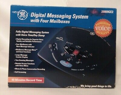 GE Digital Messaging System 29869GE2 -open box but never used-