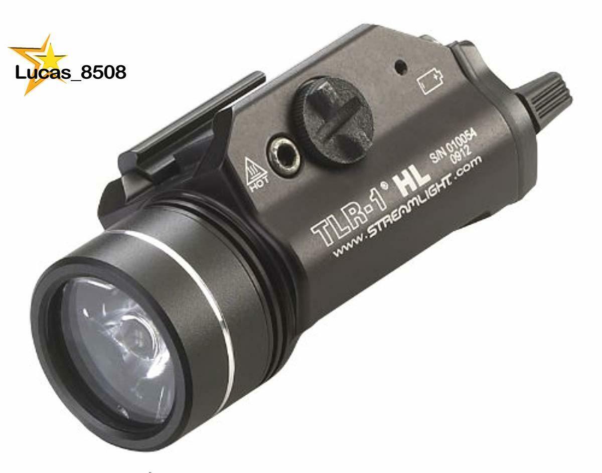 Streamlight 69260 TLR-1 HL Weapon Mount Tactical Flashlight