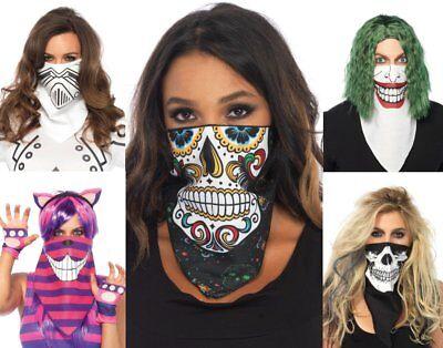 na Skelett Catrina Roboter Joker Katze Maske Kostüm Maske (Katze Maske Kostüm)