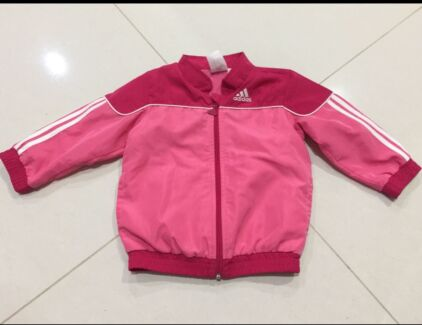 Adidas shoes and tracksuit set for girls