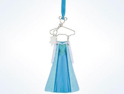 Disney Store Frozen Queen Elsa Dress Holiday Christmas Ornament Figure NWT